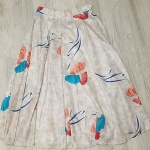 Vintage 100% cotton skirt.